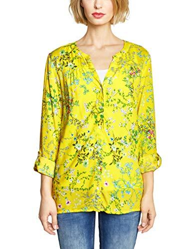 Street One Damen 341361 Bluse, Sunshine Yellow, (Herstellergröße:40)