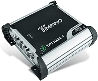 $169 » Timpano Compact 4 Channel TPT1000.4 Car Audio Amplifier – 4x 260 Watts at 2 Ohms – High Power Stereo 12 volts Full Range C...