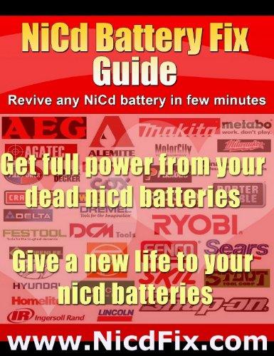 DeWalt Battery Repair Guide (English Edition)
