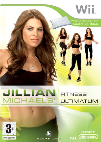 Jillian Michaels' Fitness Ultimatum 2009 (For Balance Board) /Wii