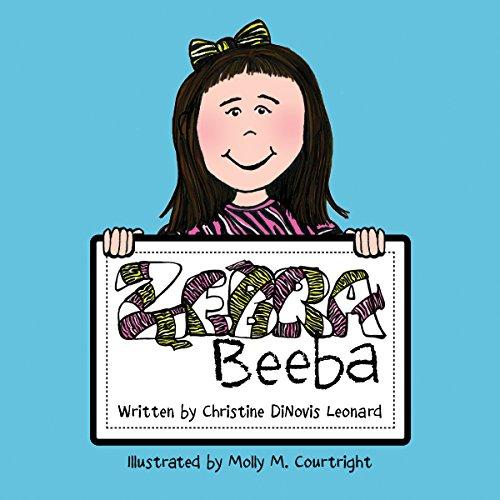 Zebra Beeba audiobook cover art