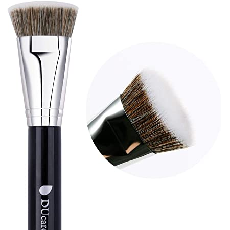 DUcare ドゥケア 化粧筆 ファンデーションブラシ シェーディングブラシ 最高級のタクロンを使用 楽々と憧れの小顔に