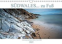 SUeDWALES... zu Fuss (Wandkalender 2022 DIN A4 quer): Naturparadies Suedwales - rollende Huegel und wilde Buchten im Westen Europas. (Monatskalender, 14 Seiten )