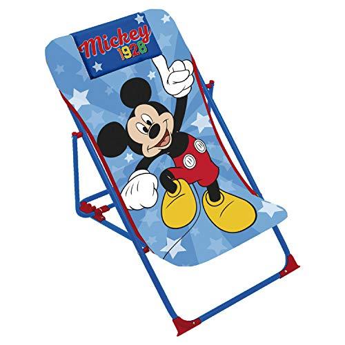 ARDITEX WD13010 Tumbona Plegable de 43x66x61cm de Disney-Mickey