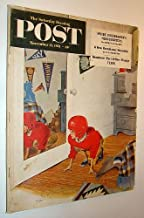 The Saturday Evening Post, November 17, 1951 - Inside Eisenhower's Headquarters / I Was Stalin's Prisoner