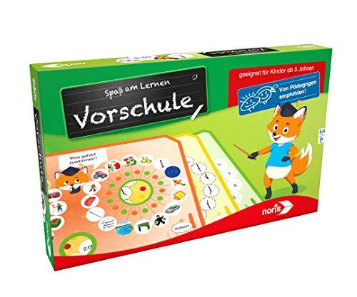 Noris 606071824 Spaß am Lernen Vorschule, Lernspiel