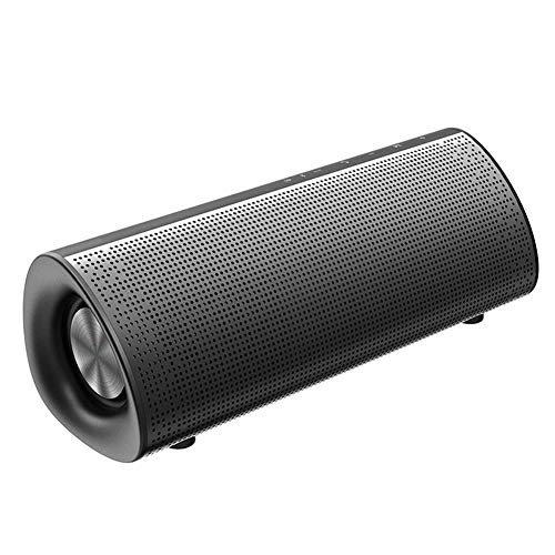 JINYIJUN Altavoz Bluetooth portátil impermeable 20 W altavoz inalámbrico barato – negro