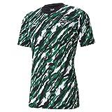 Puma Borussia M´Gladbach Iconic MCS Graphic Tee grün Mönchengladbach Fan Shirt, Größe:M