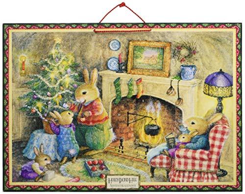 Weihnachten vorm Kamin: Weihnachtskalender (Holly Pond Hill)