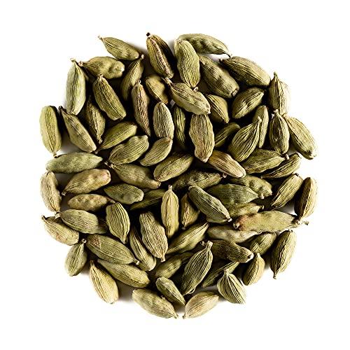 Cardamome Gousses Bio Epice - Parfum Résineux Arômes Intenses - Cardamome Verte - L. Elettaria Cardamomum 100g