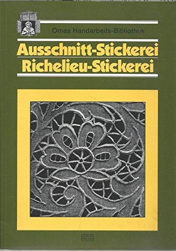 Ausschnitt - Stickerei. Richelieu - Stickerei
