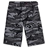 Cargo Shorts for Men - Mens Cargo Shorts with Belt - Twill Shorts by ECKO Street Camo 36