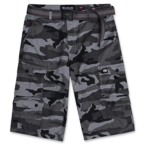 Ecko Unltd. Cargo Shorts for Men Mens Cargo Shorts Belt Big and Tall Short ECKOStreet Camo 48