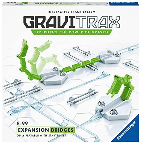 Ravensburger - GraviTrax - Set dextension Bridges / Ponts et rails - 26169 - Jeu de construction STEM - Circuits de billes créatifs - 13 pièces - Enfants de 8 ans et plus - Version française