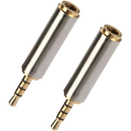 Inline 99309 Audio Adapter 2 5mm Klinke Buchse An Elektronik
