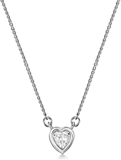 Mestige Amour Necklace with Swarovski Crystals