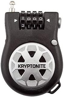 Kryptonite R2 Retractor Combo Cable Lock, 2.4mm x 3-Feet