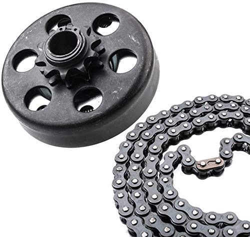 Centrifugal Clutch 3/4 Bore 10T for #40/41/420 Chain Compatible for Go Kart Minibike Lawnmower Fun Kart Engine 3/4 Bar