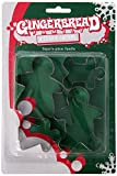 Fox Run Gingerbread Family Cookie cutters, 1.25 x 5.75 x 8.75 inches, Metallic