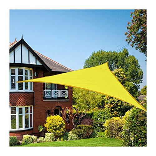 GuoWei Toldo Vela De Sombra, Carpas Rectangular De Tela Oxford Impermeable para Exteriores, Toldo Parasol para Terraza De Playa Jardín, Tamaño Personalizado (Color : Yellow, Size : 1x1x1m)