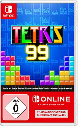 Tetris 99 + 12 Monate Nintendo Switch Online