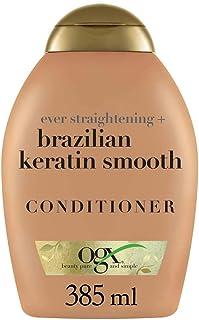 OGX Acondicionador Keratina Brasileña Cabellos Ondulados o Rizados 385 ml