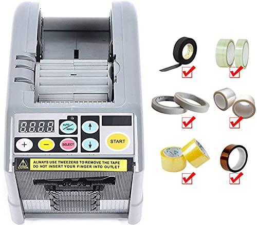 TOPQSC Empaquetadora eléctrica del cortador adhesivo del dispensador del dispensador de la cinta del dispensador eléctrico automático de la cinta (Z9)