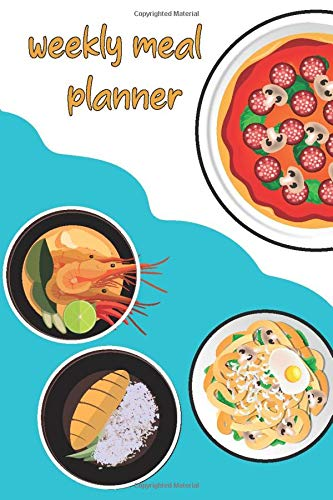 Weekly Meal Planner: Magnetic Weekly Meal Planner And Weight Watcher Meal Planner Journal, Keep Your Diet, Nutrition And Fitness Organised, Magnetic Weekly Meal Planner Or Memo Board