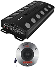 $206 » Audiopipe Car Audio Package with 2000 Watt MOSFET Amp and 2 3.75 Inch Titanium Pro Tweeters