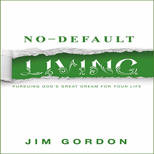 No-Default Living audiobook cover art