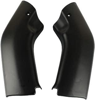 Black Ram Air Tube Cover Fairing Parts For Kawasaki ZX6R 2000-2002 ZZR600 2005-2008