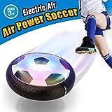 VIDEN Air Power Fußball, Indoor Fußball mit LED Beleuchtung, Fußball Geschenke Für Jungs Super Spaß beim Fußballspielen in Innenräumen, Geburtstag Geschenk Kinder Jungen Mädchen -