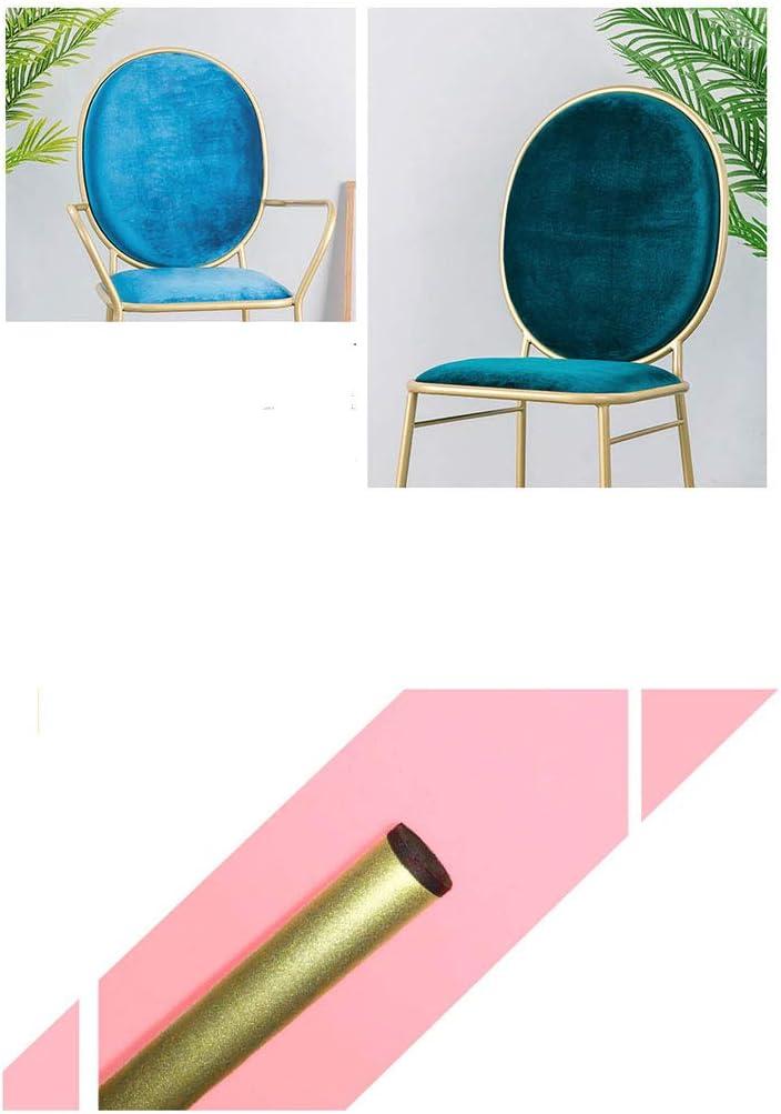 Président WGZ- Chaise de Maquillage Moderne Minimaliste Coiffeuse Tabouret Salle à Manger Chaise Chaise de Dossier de Chambre Simple (Color : B) E