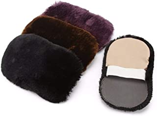 Random Colors Shoe Care Brush Soft Wool Plush Suede Shoes Cleaner Shoe Polishing Cleaning Gloves Wipe Shoes Mitt