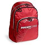 Busquets Mochila Doble Ruedas Ducati, para niños y Jovenes, Rojo