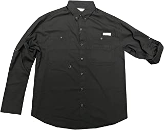 Columbia Men's PFG Omni-Wick Omni-Shade UPF 40 Crystal Springs Convertible Sleeve Shirt