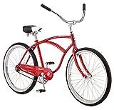 Schwinn Classic Cruiser Bike, 26-Inch Wheels, Red