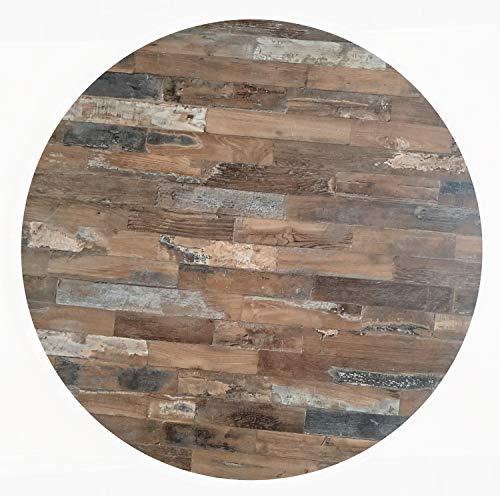 Werzalit Tischplatte Dekor Maracaibo 80 cm rund wetterfest Ersatztischplatte Gastro