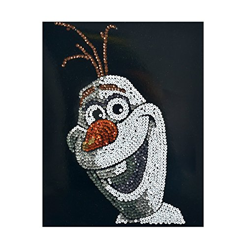 Simba 109442895 - Disney Sequin Fun Frozen-Olaf