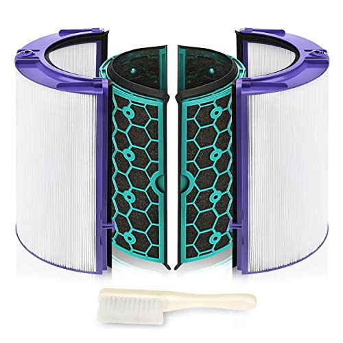 isinlive Replacement Hepa Filter for Dyson HP04 TP04 DP04 TP05 DP05 Air Purifier Sealed Two Stage 360?? Filter System Pure Cool Purifier Fan HEPA Filter & Activated Carbon Filter¡