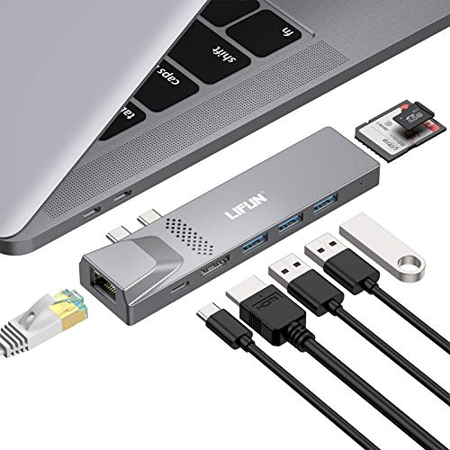(60% OFF) MacBook Pro USB C Hub $7.59 – Coupon Code