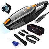 Best Car Vacuums - Foxnovo Corded Car Vacuum Cleaner,DC 12V 120W High Review
