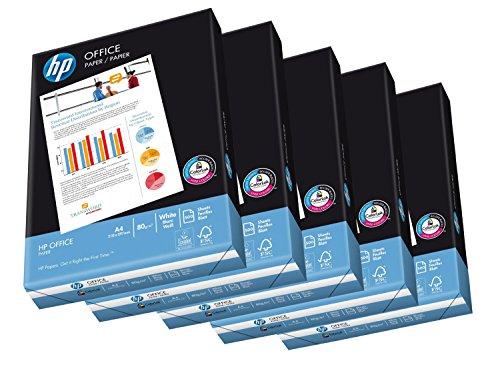 Antalis 10100275 - Hochleistungspapier HP Office, FSC-Mix, 5 x 500 Blatt, weiß