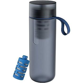 Philips Water GoZero Active Bottle, Squeeze Hydration Bottle, Filtering Water Bottle, Improving Tap Water Taste
