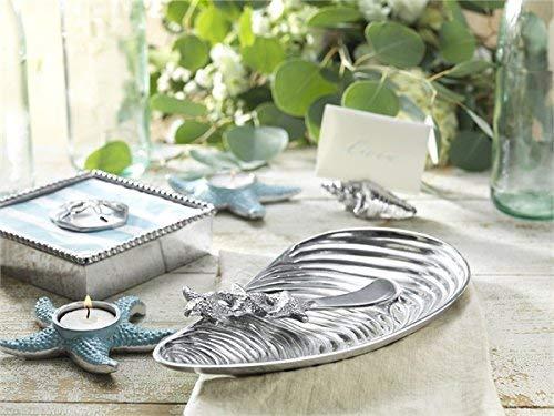 Amazon Com Mariposa Seahorse Spoon Starfish Spreader Silver Home Kitchen
