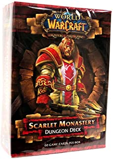 World of Warcraft TCG WoW Trading Card Game Dungeon Deck Scarlet Monastery