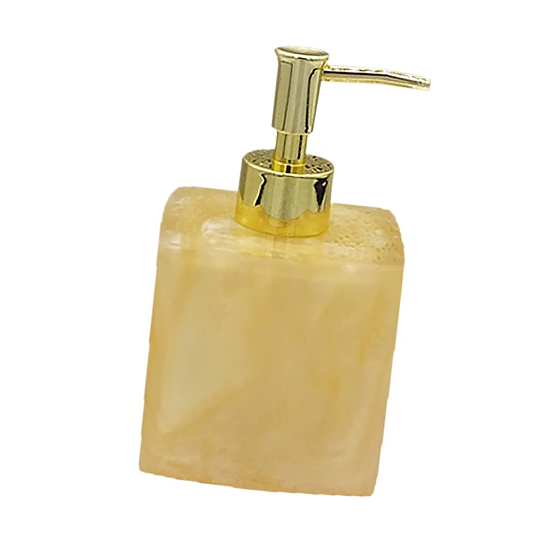 穀物許さないトムオードリース(8.5 7.8 15cm, Yellow) - MonkeyJack Resin Soap Shampoo Dispenser Bath Liquid Body Lotion Pump Bottle/Jar VARIOUS - Yellow, 8.5 7.8 15cm