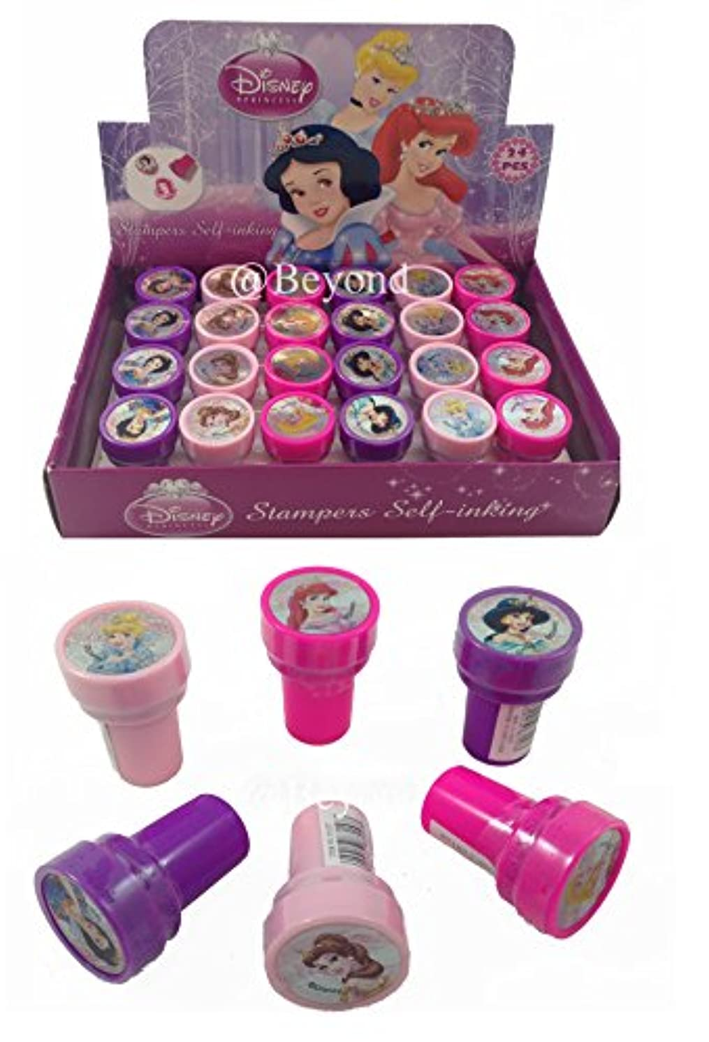 New Disney Cartoon Frozen Mickey Character Stampers Self-inking Stamps / Stampers Party Favors 24 Counts (Style 3)