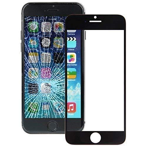 Ersatzglas Displayglas Frontglas für iPhone 6s/6 Reparaturset Werkzeug Scheibe schwarz