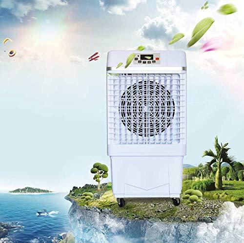 Jhheater Portátil 181 Enfriador evaporativo sobre ruedas con protección de bomba Ecológico sin daño a la capa de ozono con un ahorro energético significativo